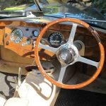 rhd car steering wheel and dashboard
