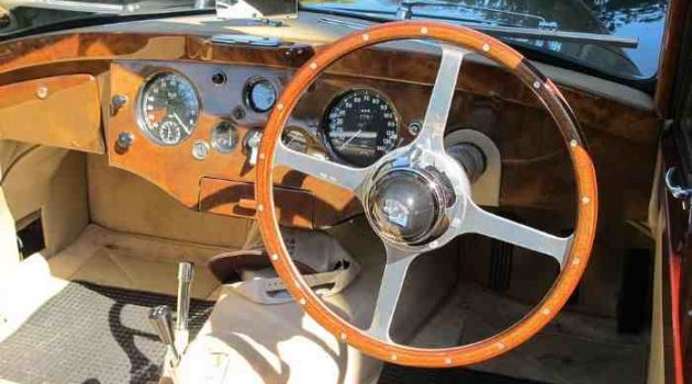 rhd car steering wheel and dashboard
